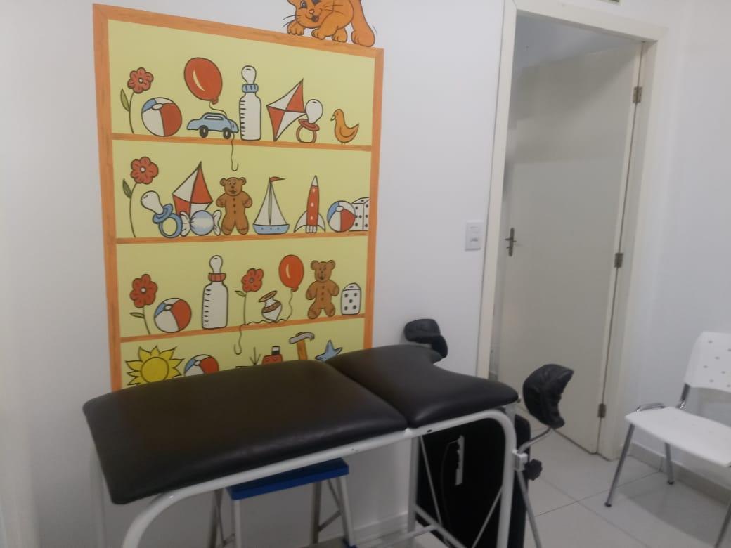 Sala de coleta em São José do Norte